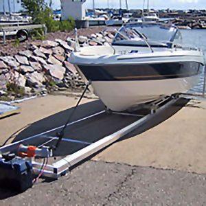Alutrack Lätt Båtslip 10m
